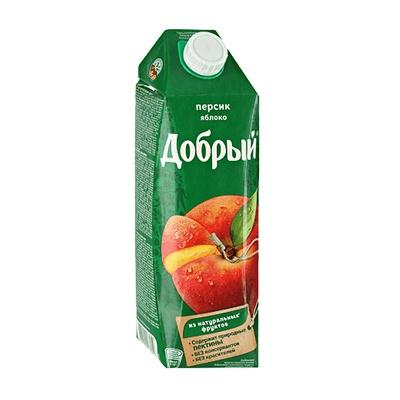 Добрый Персик-Яблоко 1 л.