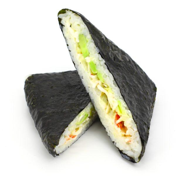 Суши-сэндвич с крабом