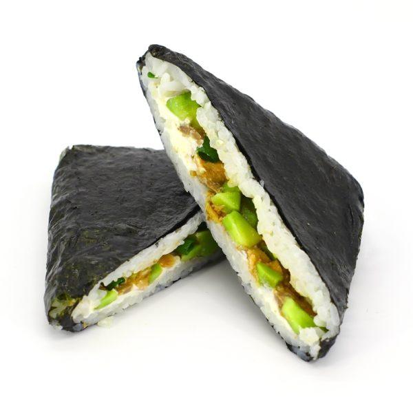 Суши-сэндвич с лососем терияки