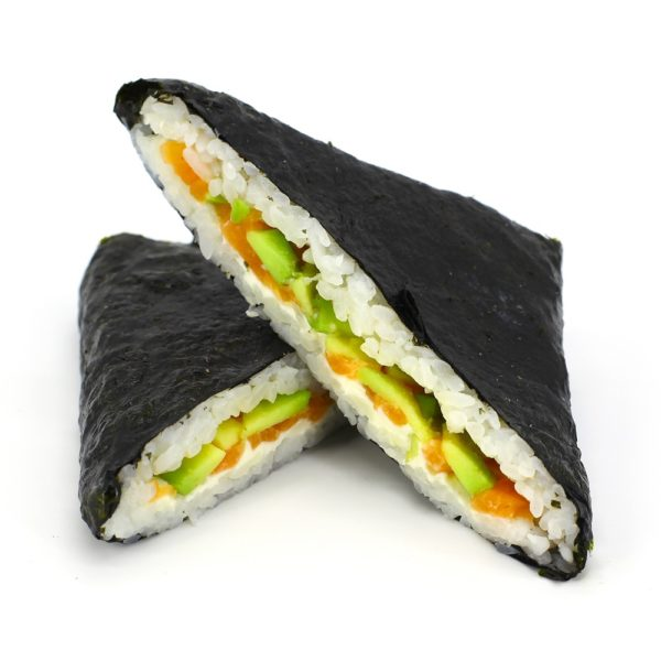 Суши-сэндвич сливочный лосось